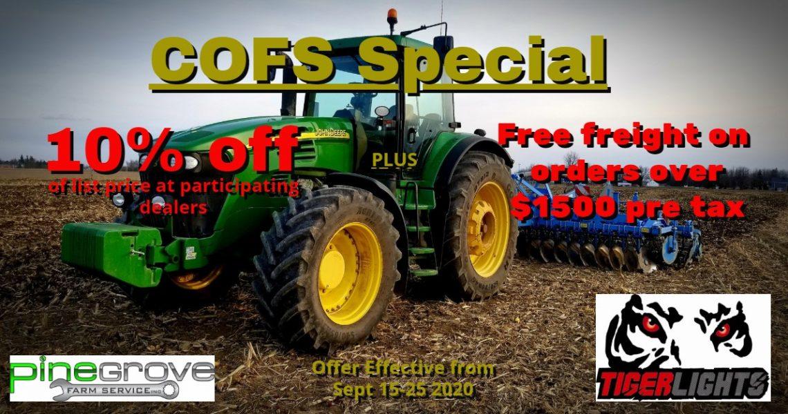 COFS special Tiger Lights